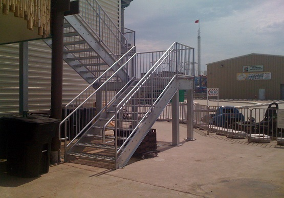 Commercial Steel Design and Installation by Majestic Stairs Perth WA